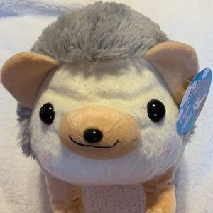 "Round 1 Amuse Collection Hedgehog 16"" New Plush"